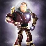 BuzzMan : Le mashup Buzz l'éclair vs IronMan (Rachat Marvel Disney)