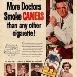 Ancienne Pub pour le Tabac par des Medecins