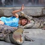Le Gout du risque avec un Crocodile [insolite]